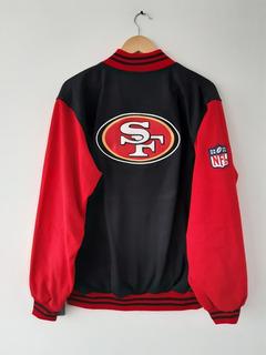 Chamarra Clásica San Francisco 49ers Bordada Algodón Nfl
