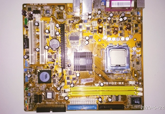 Placa Mãe Asus P5vd2-mx Lga 775 + Celeron 2.53 Ghz
