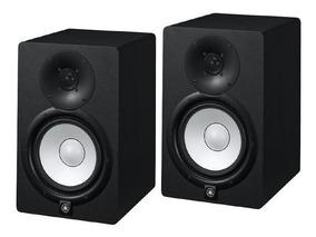 Monitor De Referência Ativo Yamaha Hs7 Preto 95w 110v Par