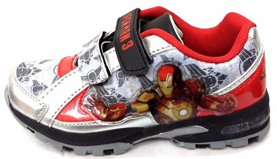 Zapatillas Iron Man Con Luz
