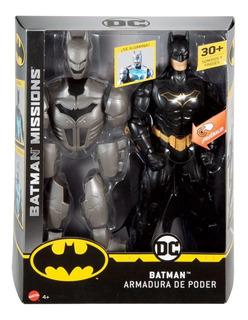 Muñeco Batman Armadura De Poder Luz Sonido Mattel Mundomania