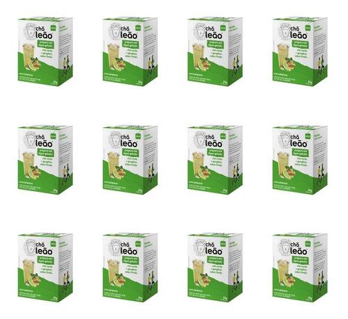Imagem 1 de 1 de Leão Cold Brew Verde/geng/limão Chá Gelado  C/10 (kit C/12)
