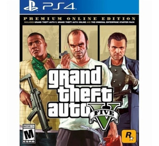 Juegos Grand Theft Auto V Gta 5 Premium Ps4 Playstation Fisico /u