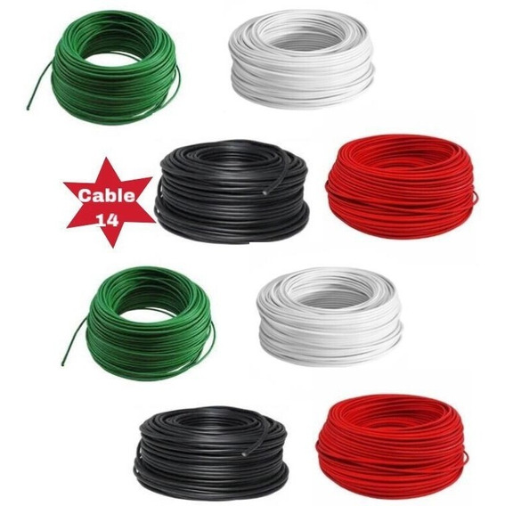 Kit Cable 15 Piezas Calibre 14 Thw