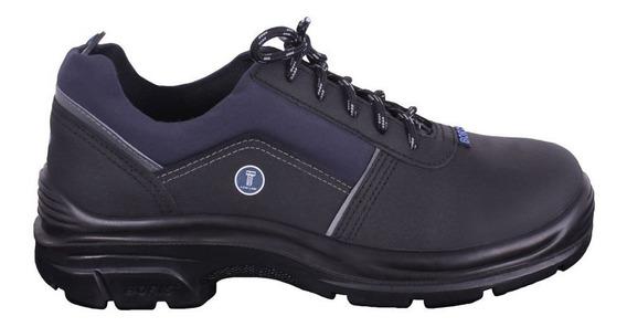 Zapato Boris 2126 Negro Acero Calzado Seguridad Dielectrico