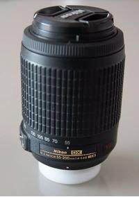 Lente Nikon 55-200mm Vr Dx Ed