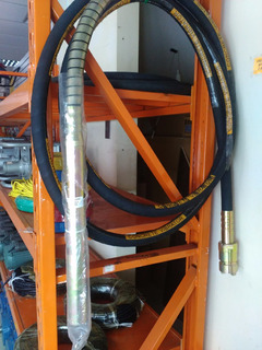 Sonda Vibradora De Concreto 50mm 6 Metros De Largo