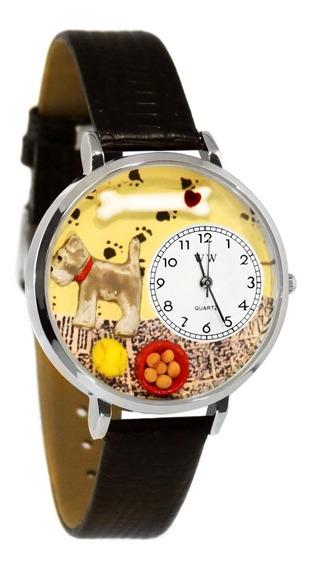 Schnauzer Reloj De Plata (grande)
