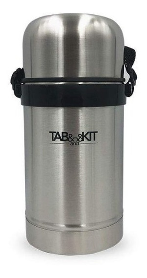 Termo Para Comida Acero Inoxidable 800 Ml Tab & Kit