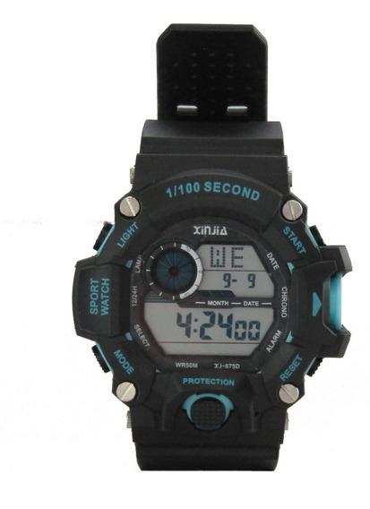 Relógio Militar Esportivo Digital A Prova D