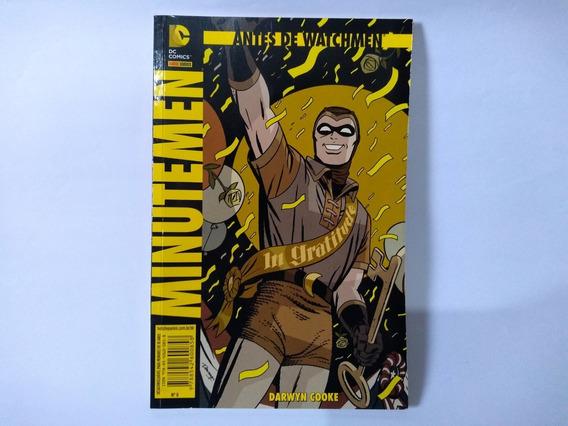 Antes De Watchmen Minutemen