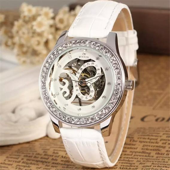 Relógio Winner, A Corda,feminino Mecânico, Modelo 4949