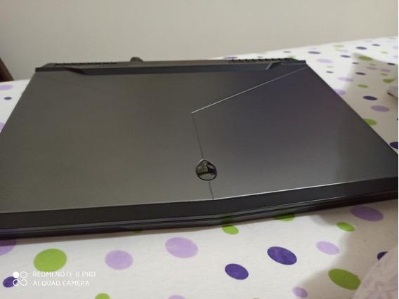 Nb Alienware 17 R5 I9, 32gb, 500gb Nvme, Gtx 1080, 4k Usado!