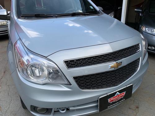 Imagem 1 de 15 de Chevrolet Gm Agile Ltz 1.4 Prata 2011