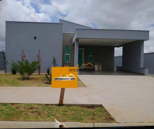 Casa Com 3 Dormitórios À Venda, 164 M² Por R$ 670.000 - Condomínio Lagos D'icaraí - Salto/sp - Ca1741