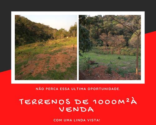 Terreno De 1000² Com Ótima Vista Para A Natureza