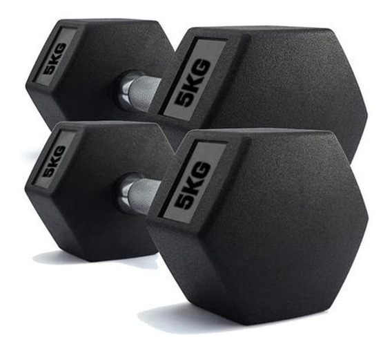 Par De Halteres Dumbell Sextavado Ahead Sports As2102 5kg