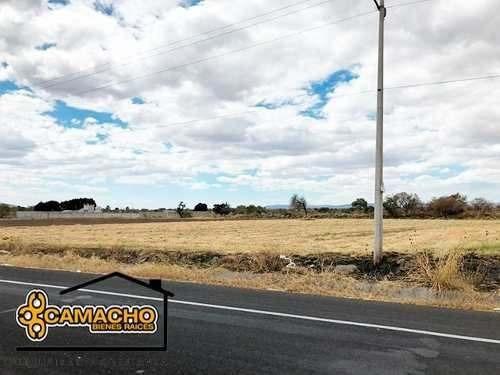 Venta De Terreno En Autopista Atlixco-izucar (opt-0114)