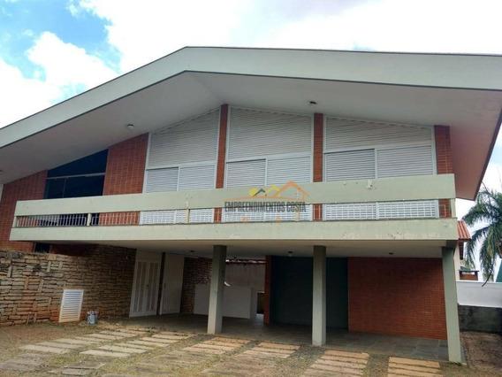 Casa Residencial Para Locação, Condomínio Portal De Itu I, Itu - Ca0764. - Ca0764
