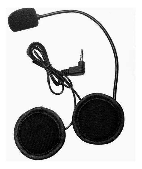 Fone E Microfone Intercomunicador Intercom V6 V4 Original