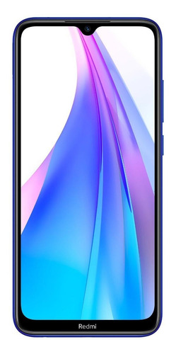 Celular Smartphone Xiaomi Redmi Note 8t 128gb Azul - Dual Chip