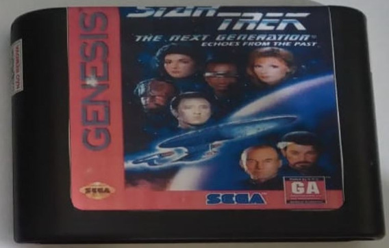 Cartucho Mega Drive Star Trek Next Generation