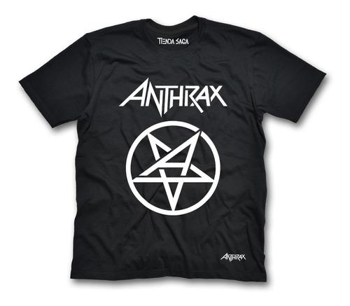 Camiseta Anthrax - Rock - Metal
