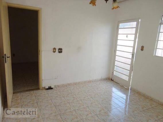 Casa Com 1 Dormitório Para Alugar, 50 M² Por R$ 780,00 - Jardim Proença - Campinas/sp - Ca0269