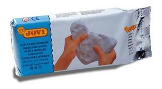 86 Pasta Barro Moldear Blanca Endurece Al Aire 1000g Jovi