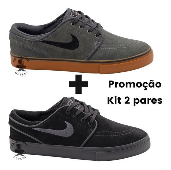 Kit 2 Pares De Tênis Nike Sb Stefan Janoski Zoom Og Promoção