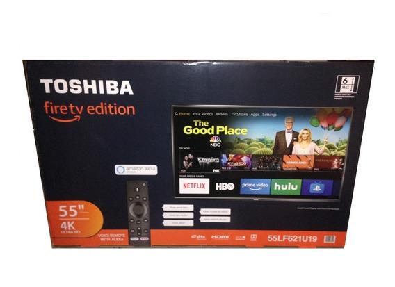 Toshiba Smart Tv 55 Pulgadas 4k (pantalla Rota)