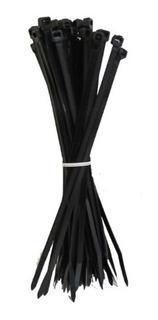 Cintillo Negro O Cincho 6 De 15 Cm Con 100 Pzas