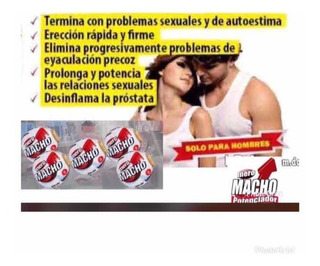 Potencia Sexual Meromacho 16 Pastillas