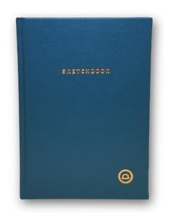 Sketchbook Bullet Journal King Blue Hoja Punto 200pag 90grs