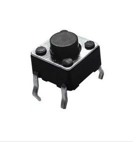 Chave Tactil 6x6x7mm 4 Pinos 100 Un