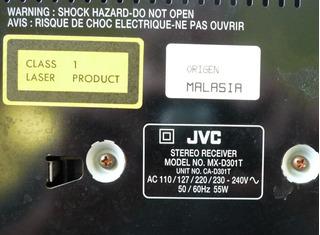 Minicomponente Jvc Con Bluetooth Y Mp· Perfecto En Olivos