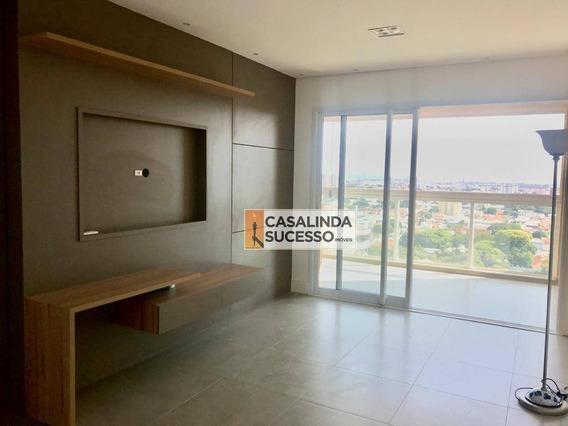 Apartamento Com 3 Dormitórios Para Alugar, 106 M² Por R$ 3.500/mês - Cidade Nova I - Indaiatuba/sp - Ap5990