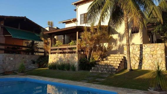 Casa Com 4 Dormitórios À Venda, 300 M² Por R$ 1.800.000 - Granja Dos Cavaleiros - Macaé/rj - Ca0918