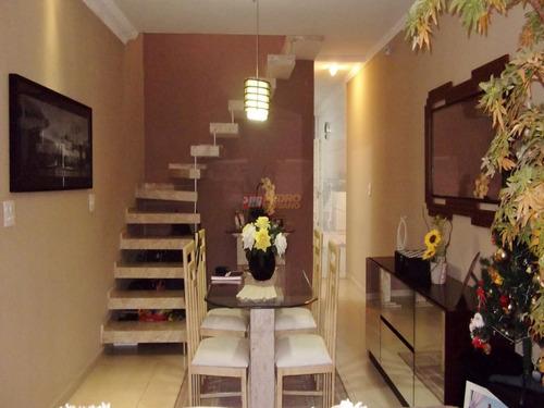Sobrado No Bairro Jardim Santa Emilia Em Sao Paulo Com 03 Dormitorios - V-29483