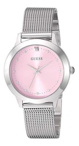 Relógio Guess Feminino Rosa Esteira 92650l0gdna9 W1197l3