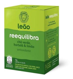 Chá Leão Funcionais - Reequilibra 10 Saches