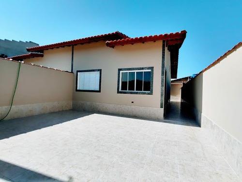 Casa Lado  Praia, Com Espaço Para Piscina Somente R$220mil Minha Casa Minha Vida Utilize Seu Fgts Whatsapp (13) 98174-2222 - Ca0749