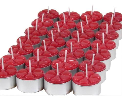 Imagem 1 de 4 de 12 Velas Aromáticas Morango Aromatizada Dia Dos Namorados