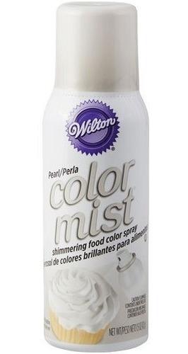 Color Mist Wilton Color En Aerosol Comestible Blanco