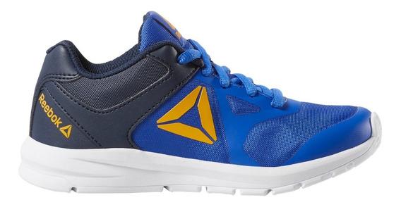 Zapatillas Reebok Rush Runner Azul De Niño