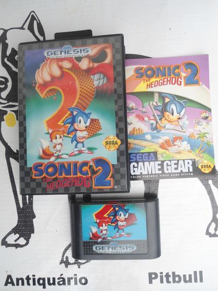 Sonic The Hedgehog 2 Original Mega Drive (caixa Manual)