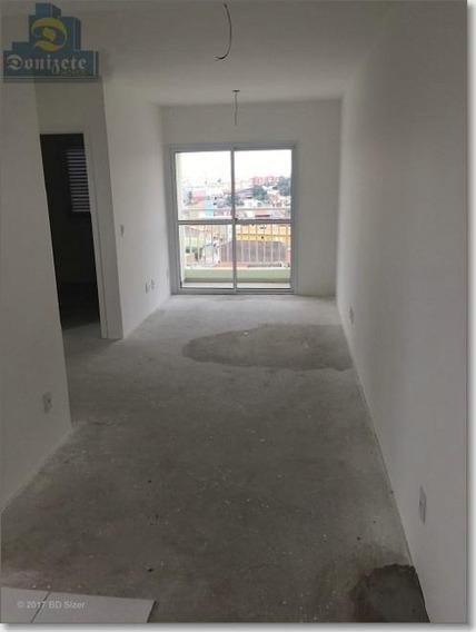 Apartamento Com 1 Dormitório À Venda, 50 M² Por R$ 258.900,00 - Vila Alto De Santo André - Santo André/sp - Ap5127