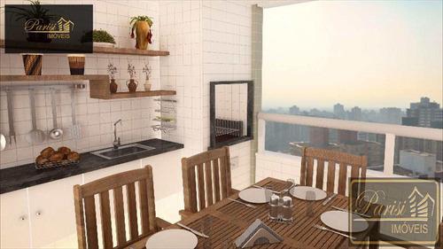 Imagem 1 de 13 de Apartamento Mirim - Praia Grande/sp - V42