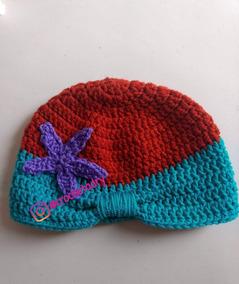 Gorro Princesas Crochet