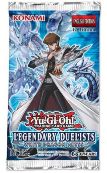 Yu Gi Oh Legendary Duelists White Dragon Abyss Booster Pack